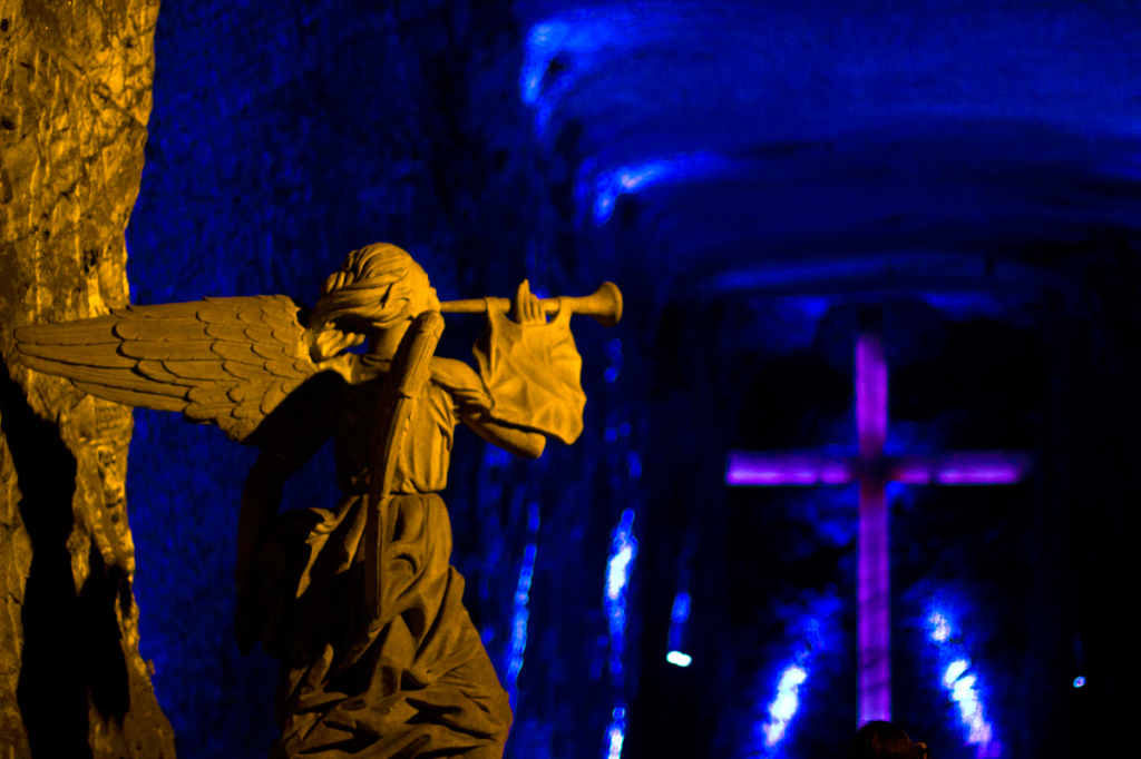 Salt Cathedral, Zipaquirá, salt mine