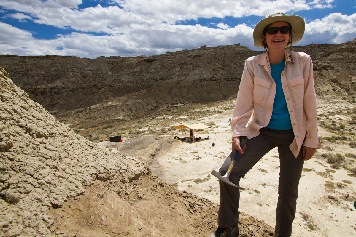dinosaur dig, women in science, science education, science educators, wyoming